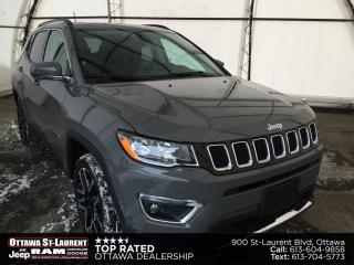 Used 2020 Jeep Compass Limited TRAILER TOW GRP, SUNROOF, NAVIGATION, 19