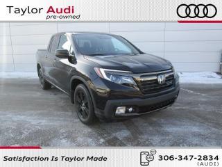 Used 2017 Honda Ridgeline Black Edition BLACK EDITION for sale in Regina, SK