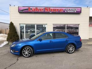 Used 2011 Ford Fusion SEL LOCAL TRADE for sale in Tilbury, ON