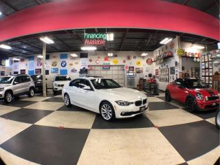 Used 2017 BMW 3 Series 2.0L X DRIVE DIESEL PREMIUM & NAVI PKG AUTO LEATHER BACKUP CAM SUNROOF 84K for sale in North York, ON