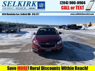 Used 2016 Chevrolet Cruze Limited LT for sale in Selkirk, MB
