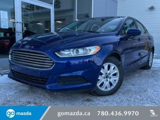 Used 2013 Ford Fusion S - FWD, AUTO, POWER OPTIONS CRUISE. GREAT BUY for sale in Edmonton, AB
