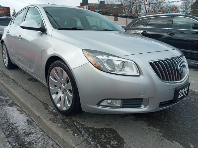 2011 Buick Regal CXL-T w/1SN-LEATHER-SUNROOF-BLUETOOTH-AUX-ALLOYS