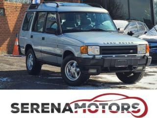 Used 1996 Land Rover Discovery SE7 | V8 | FULLY LOADED |  IN GREAT SHAPE | AS IS for sale in Mississauga, ON