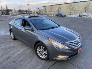 Used 2013 Hyundai Sonata Auto, Ssunroof, 4 Door, 3/Y Warranty available for sale in Toronto, ON