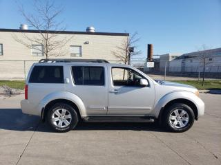 Used 2005 Nissan Pathfinder 4WD, 7 pass, Auto, Leather, 3/Y Warranty Available for sale in Toronto, ON
