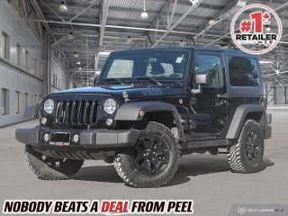 Used 2016 Jeep Wrangler Willys 4x4 for sale in Mississauga, ON