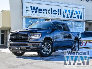 Used 2019 RAM 1500 Sport / Pano Roof / Nav for sale in Kitchener, ON