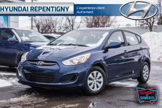Used 2016 Hyundai Accent 5dr HB Man GL* SIEGES CHAUFFANT, BLUETOOTH, A/C for sale in Repentigny, QC