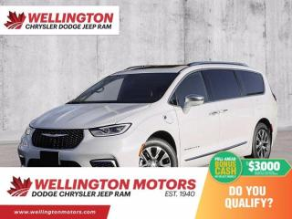 New 2021 Chrysler Pacifica Hybrid Pinnacle for sale in Guelph, ON