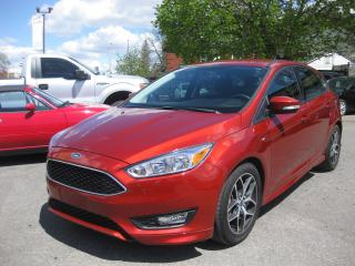 Used 2018 Ford Focus SE Hatchback AC FWD Cruise Bluetooth Rev Cam PL PW for sale in Ottawa, ON