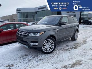 Used 2017 Land Rover Range Rover Sport V6 HSE 4WD | Heated/Cooled Seats for sale in Winnipeg, MB