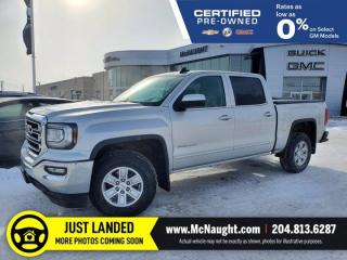 Used 2018 GMC Sierra 1500 SLE 4x4 Crew Cab | Remote Start | Dual Climate for sale in Winnipeg, MB