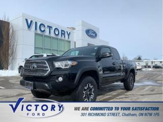 Used 2016 Toyota Tacoma TRD Off-Road | NAV | 2 SETS WHEELS | HEATED SEATS for sale in Chatham, ON