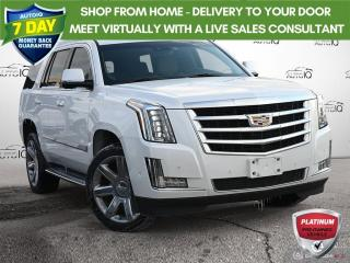 Used 2018 Cadillac Escalade Luxury Navigation Sunroof 22Inch Rims!! for sale in Oakville, ON