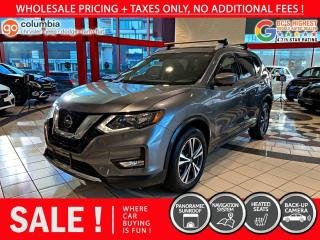 Used 2019 Nissan Rogue SV AWD - Nav / Pano Sunroof / No Dealer Fees for sale in Richmond, BC