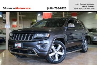 Used 2014 Jeep Grand Cherokee OVERLAND ECODIESEL - ACC|BSA|PANO|NAVI|BACKUP for sale in North York, ON