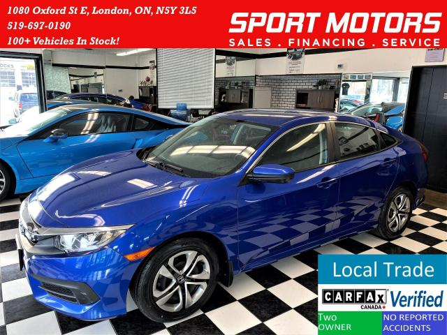2017 Honda Civic LX+New Tires & Brakes+ApplePlay+ACCIDENT FREE