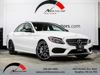 Used 2017 Mercedes-Benz C-Class C43 AMG 4MATIC/Navigation/Red Leather for sale in Vaughan, ON