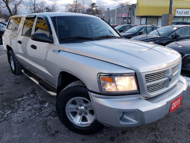 2011 Dodge Dakota SXT/4X4/CREW CAP/FOGS/LOADED/ALLOYS