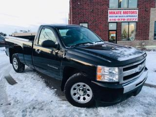 Used 2010 Chevrolet Silverado 1500 2-Door Long Box 4.3L for sale in Rexdale, ON