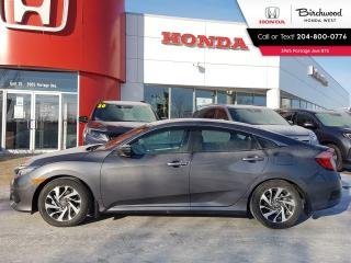Used 2016 Honda Civic EX Sunroof - Apple CarPlay - Android Auto for sale in Winnipeg, MB