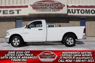 Used 2015 Dodge Ram 1500 SXT 5.7L HEMI 4X4, LOADED, 8FT BOX, HUGE VALUE! for sale in Headingley, MB