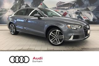 Used 2020 Audi A3 45 TFSI Komfort + Dual Climate | quattro | CarPlay for sale in Whitby, ON