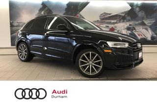 Used 2018 Audi Q3 2.0T Technik + Bose | Black Optics | Sport Package for sale in Whitby, ON