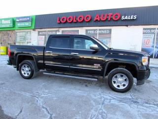 Used 2015 GMC Sierra 1500 SLT All Terrain Crew Cab 4WD Navi Camera Certified for sale in Milton, ON