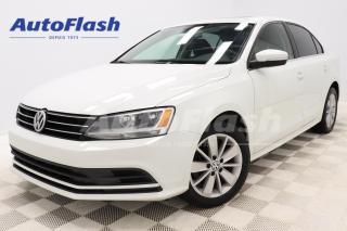 Used 2016 Volkswagen Jetta Sedan *TRENDLINE-PLUS/COMFORTLINE *M5 *TOIT/ROOF *MAGS for sale in Saint-Hubert, QC