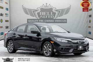 Used 2018 Honda Civic Sedan EX-T, REAR CAM, SUNROOF, LANE ASST. B.SPOT CAM, SENSORS for sale in Toronto, ON