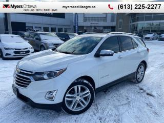 Used 2018 Chevrolet Equinox Premier  PREMIER, SUNROOF, NAV, AWD, LEATHER, 19