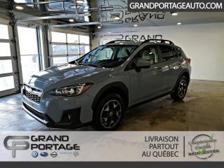 Used 2018 Subaru XV Crosstrek Tourisme CVT for sale in Rivière-Du-Loup, QC