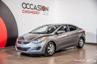 Used 2013 Hyundai Elantra GL+GR /ELECT+BLUETOOTH+SIEGE/CHAUFF for sale in Laval, QC