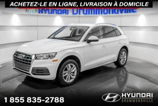 Used 2019 Audi Q5 KOMFORT + GARANTIE + CAMERA + CUIR + WOW for sale in Drummondville, QC