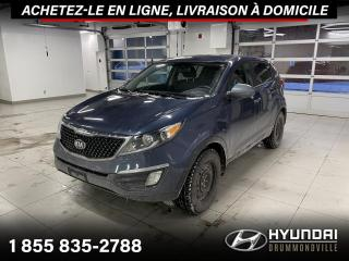 Used 2015 Kia Sportage LX + GARANTIE + A/C + CRUISE + WOW !! for sale in Drummondville, QC