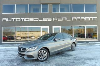 Used 2015 Mercedes-Benz C 300 4MATIC - GARANTIE MERCEDES - PNEUS HIVVER ETE - for sale in Québec, QC