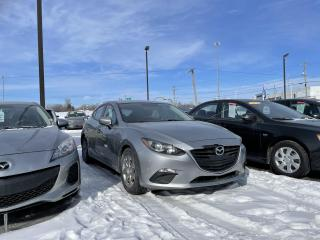 Used 2014 Mazda MAZDA3 HB,Sport,Man,GX-SKY,A/C,BLUET,VITRES ET MIROIRS ÉL for sale in Mirabel, QC