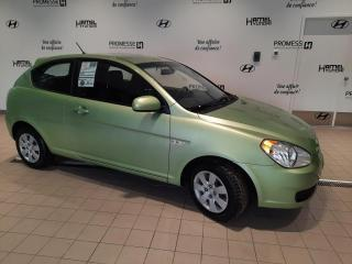 Used 2010 Hyundai Accent GL AUTOMATIQUE **SEULEMENT 55 172 KM** for sale in St-Eustache, QC
