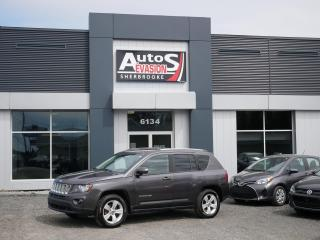 Used 2014 Jeep Compass NORTH EDITION 4 X 4 + INSPECTÉ + FREINS NEUFS for sale in Sherbrooke, QC