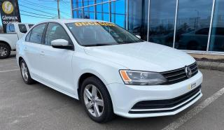 Used 2015 Volkswagen Jetta TRENDLINE , MANUELLE , ÉCRAN TACTILLE , for sale in Ste-Agathe-des-Monts, QC
