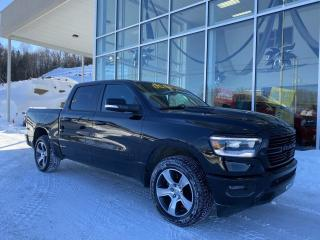 Used 2019 RAM 1500 SPORT , CREW , ÉCRAN 12' , NAV , 4X4 for sale in Ste-Agathe-des-Monts, QC