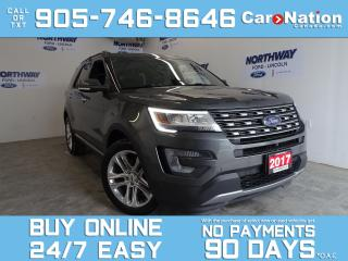 Used 2017 Ford Explorer LIMITED | 4X4 | ROOF | LEATHER | NAV | 20'' RIMS for sale in Brantford, ON