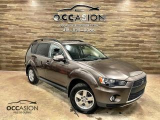 Used 2011 Mitsubishi Outlander 4WD LS V6 7 PLACES for sale in Ste-Brigitte-de-Laval, QC