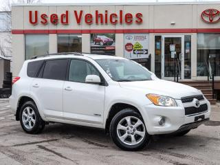 Used 2012 Toyota RAV4 Limited LOW MILEAGE, CARFAX - NO ACCIDENTS, ALLOYS for sale in North York, ON