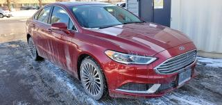 Used 2018 Ford Fusion Hybrid 1 OWNER|CLEAN CARFAX|NAV|LEATHER|SUNROOF for sale in Scarborough, ON