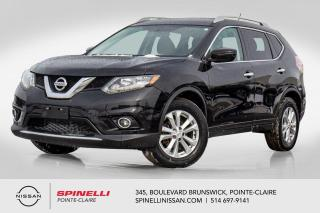 Used 2016 Nissan Rogue SV FWD SIEGES CHAUFFANTS / CAMERA DE RECUL / BLUETOOTH / MAGS 17'' for sale in Montréal, QC