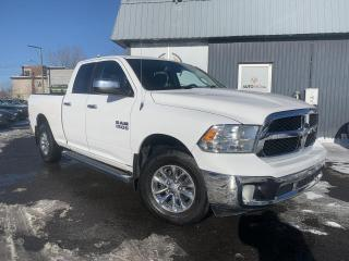 Used 2014 RAM 1500 ***SLT,4X4,XTRA CLEAN,BAS KILO,MAGS,A/C* for sale in Longueuil, QC