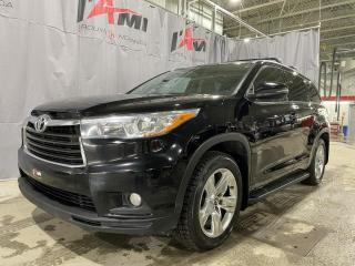 Used 2016 Toyota Highlander AWD 4DR LIMITED for sale in Rouyn-Noranda, QC